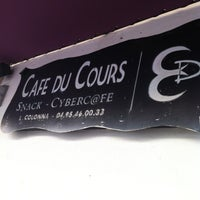 Photo taken at Cafe du Cours by Anna M. on 5/30/2012