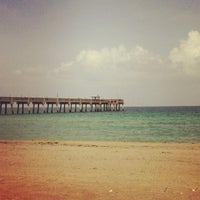Photo taken at Dania Beach Pier by daleviso on 8/22/2012