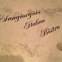 Photo taken at San Giorgio's Italian Bistro by Dan C. on 4/8/2012