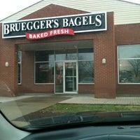 Photo taken at Bruegger's by Jamie-Lynn K. on 3/17/2012