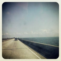 Photo taken at Lake Pontchartrain Causeway by Mandi K. on 5/5/2012