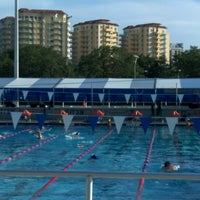 Photo taken at North Shore Aquatic Complex by Brienne Lee B. on 7/5/2012