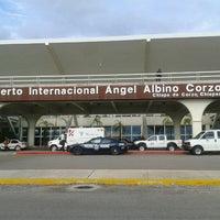 Photo taken at Aeropuerto Internacional de Tuxtla Gutierrez Ángel Albino Corzo (TGZ) by Manuel R. on 6/25/2012