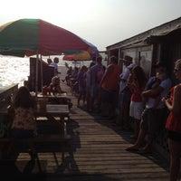 Photo taken at Dewey Destin's Seafood & Restaurant by Brandon on 7/1/2012