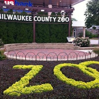 Photo taken at Milwaukee County Zoo by Ebe D. on 7/22/2012