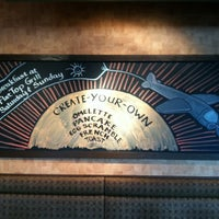 Photo taken at Flat Top Grill by Hilary B. on 8/4/2012