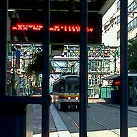 Photo taken at NFTA Metro Rail Church Street Station by Jo D. on 7/29/2012