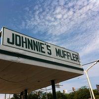Photo taken at Johnnie's Muffler & Shock Center by David R. on 7/7/2012