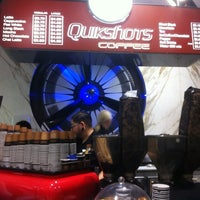 Photo taken at Quikshots Coffee by Tim M. on 6/20/2012