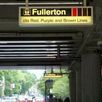 Photo taken at CTA - Fullerton by David R. on 7/19/2012