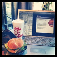 Photo taken at Chick-fil-A by Katie M. on 3/15/2012