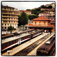 Photo taken at Stazione S. Anna FCU by Elizabeth on 5/21/2012
