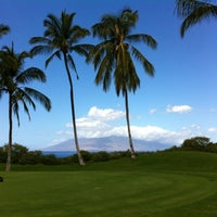 Photo taken at Wailea Golf Club by Leo P. on 2/23/2012