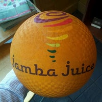 Photo taken at Jamba Juice Crossroads Towne Center by Jared J. on 3/26/2012