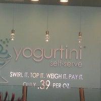 Photo taken at Yogurtini by Tela O. on 2/18/2012