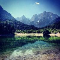 Photo taken at Jezero Jasna by Blaž V. on 7/27/2012