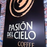 Photo taken at Pasión del Cielo Coffee by Gabriel G. on 3/8/2012
