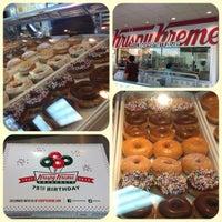 Photo taken at Krispy Kreme Doughnuts by Sarah A. on 5/12/2012