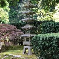 Photo taken at Portland Japanese Garden by Rebecca L. on 5/18/2012