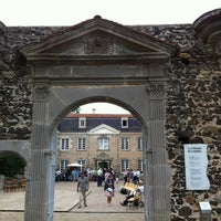 Photo taken at Château de Goutelas by Mervet B. on 7/14/2012
