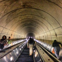 Photo taken at Wheaton Metro Station by Anthony V. on 7/6/2012