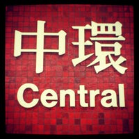 Photo taken at MTR Central Station by Deviana K. on 5/1/2012
