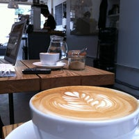 Photo taken at Store Street Espresso by Amy C. on 5/20/2012