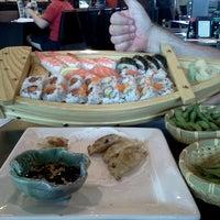 Photo taken at Wasabi Sushi Centennial by Mya M. on 5/5/2012
