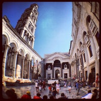 Photo taken at Diocletian's Palace by Sean R. on 8/24/2012