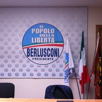 Photo taken at Sede Regionale Popolo della Libertà by Mario F. on 6/7/2012
