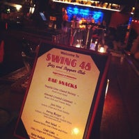 Photo taken at Swing 46 by tracy a. on 7/30/2012