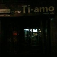 Photo taken at Caffe Ti-amo by Sean J. on 9/6/2012