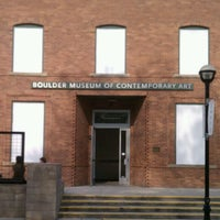 Photo taken at Boulder Museum of Contemporary Art by Peter M. on 6/29/2012