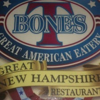 Photo taken at T-Bones Great American Eatery by James H. on 2/28/2012
