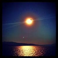 Photo taken at Bandırma by Orkun on 7/19/2012