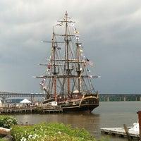 Photo taken at Newburgh Landing by Julia W. on 6/3/2012