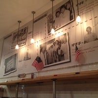 Photo taken at F. Ottomanelli Burgers and Belgian Fries by Wesley C. on 8/8/2012