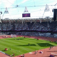 Photo taken at London Stadium by Mark S. on 9/6/2012