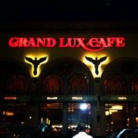 Photo taken at Grand Lux Cafe by Shannon S. on 4/12/2012