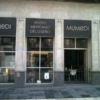 Foto tomada en Museo Mexicano Del Diseño (MUMEDI) por Joel L. el 7/15/2012