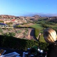 Photo taken at Salobre Golf by Ovidio V. on 5/5/2012