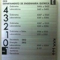 Photo taken at Departamento de Engenharia Química (DEQ) by João Wagner O. on 5/30/2012