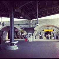 Photo taken at Keihan Uji Station (KH77) by ko b. on 5/13/2012