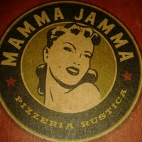 Photo taken at Mamma Jamma Pizzeria by Zago J. on 7/8/2012