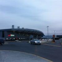Photo taken at Terminal B by Daniel G. on 3/10/2012