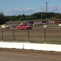Photo taken at Merritville Speedway by Towtruckrick on 9/9/2012