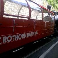 Photo taken at Brienz–Rothorn Bahn by Ryutaro T. on 8/16/2012