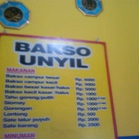 Photo taken at Bakso unyil by ismu g. on 4/5/2012