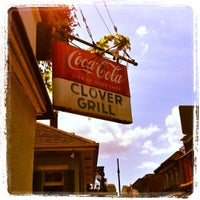 Photo taken at Clover Grill by Jonathan T. on 9/3/2012