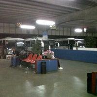 Photo taken at Terminal Rodoviário de Taubaté by Marcio C. on 8/22/2012